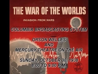 Orson Welles' The War of the Worlds radio drama - CBS October 30, 1938 - subtitled