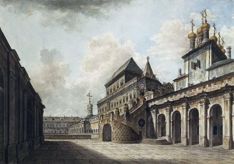 москва 18 век