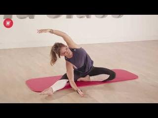 Stretch | Тренировка на растяжку в домашних условиях с Олесей Горковенко