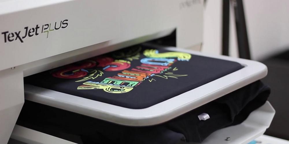 Печать принтов на футболках на заказ