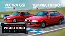 Tempra Turbo VS. Vectra GSI! Quem leva na pista? Confira! ARNP 03