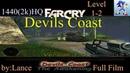 FarCry Mod-(Map_Levels-2)-Devils Coast 1-2(Дьявольское побережье)_Full_1440p_HQ