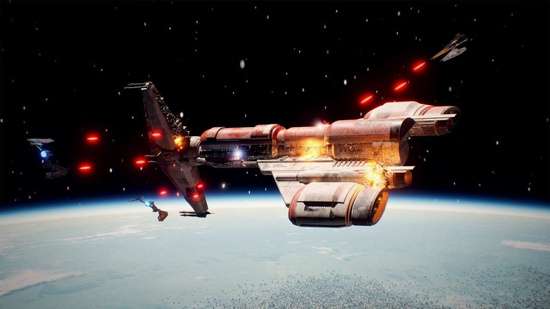 KOTOR Opening Sequence RECREATED in UNREAL ENGINE 5