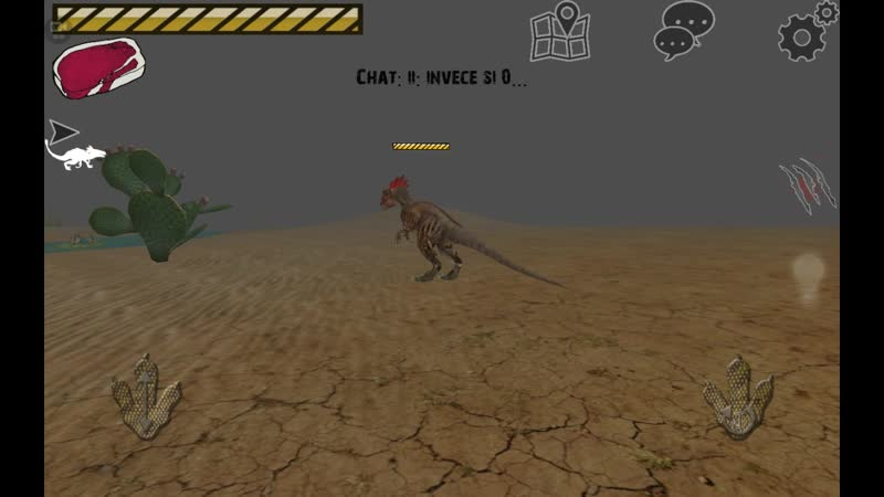 Баг с аллозавром в Raptor RPG