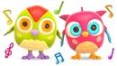 Детские песенки для самых маленьких на английском языке с совенком Хоп Хоп