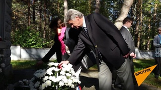 На месте концлагеря Клоога в Эстонии реабилитация нацизма - кощунство