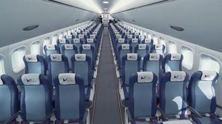 Самолет МС-21: Презентация салона