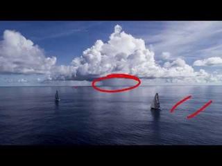 Ветровая тактика и стратегия для яхт при кучево дождевой облачности.