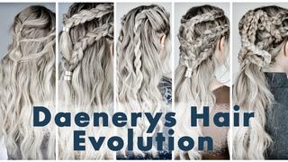 The Evolution of Daenerys Targaryen Hairstyles - KayleyMelissa