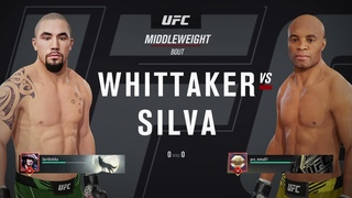 VBL 55 Middleweight Robert Whittaker vs Anderson Silva