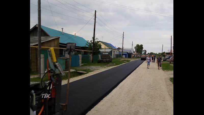 С села Чажемто стартовала дорожно-ремонтная кампания в Колпашевском районе