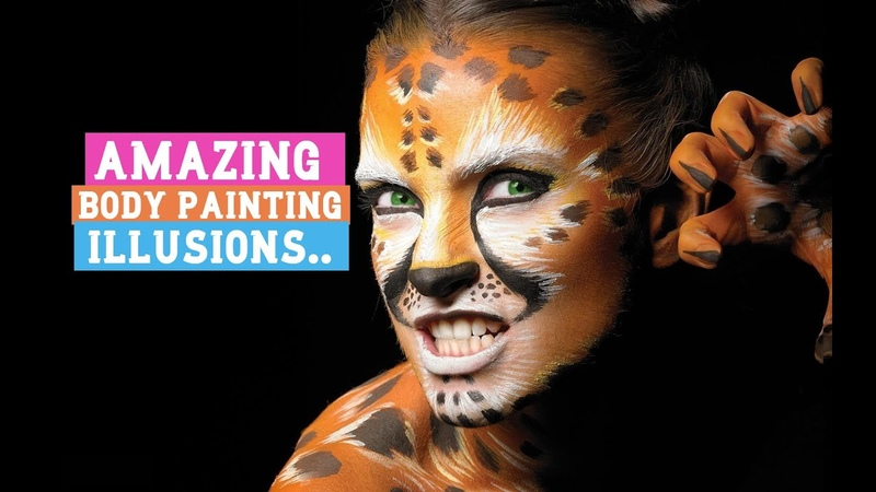 Amazing Body Painting Illusions