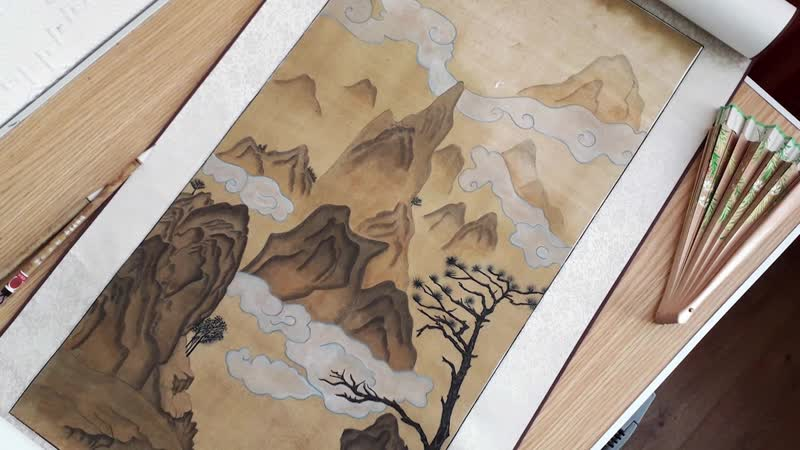 Золотые руки Мастер по китайской живописи