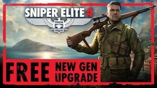 Sniper Elite 4 – FREE New Gen Upgrade   PS5, Xbox Series X/S