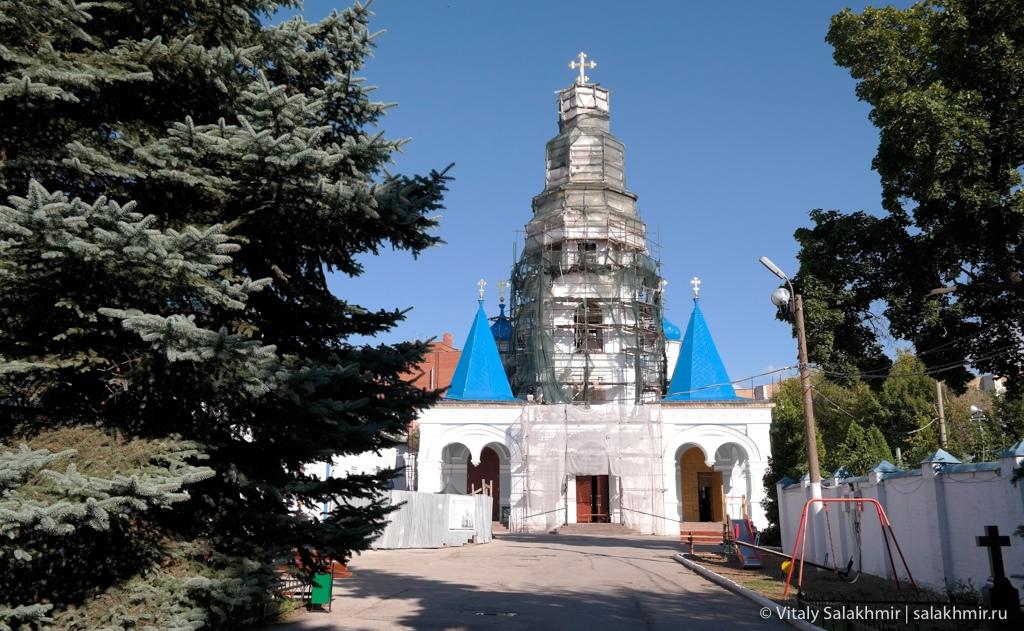 Реставрация Покровского собора в Самаре
