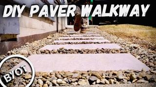 PORCELAIN PAVER WALKWAY