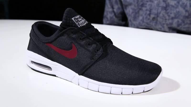 Мужская обувь для скейтбординга Nike SB Portmore II Ultralight Черные