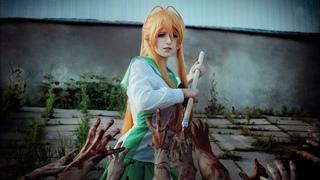 Бекстейдж фотосета Юно и Рей. Как сделать фото с зомби и кровью