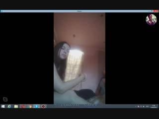 Общение в скайпе, девушки конфетки 43