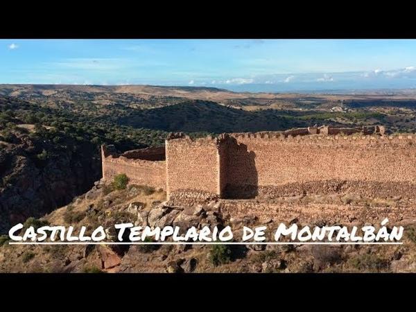 Castillo Templario de Montalbán San Mart n de Montalbán Toledo 4K