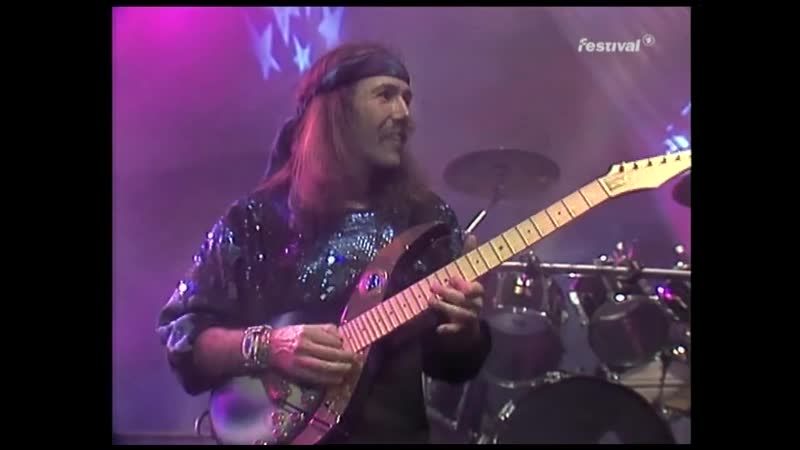 John Wetton Uli Jon Roth Simon Phillips All Along The Watchtower Live in Germany 1991