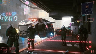 Cyberpunk 2077 - Follow or don't follow Trauma Team orders to step away (The Rescue)