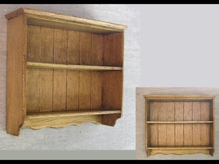 1/12th Scale Cottage Style Wall Shelf Tutorial