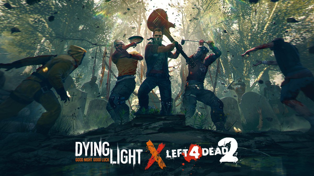 Techland анонсировала кроссовер Dying Light с Left 4 Dead 2.