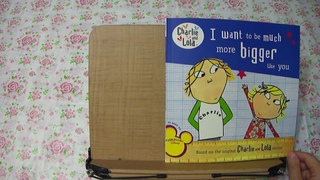 [Read Aloud] I want to be much more bigger like you from Charlie and Lola Stories