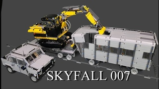 James Bond SKYFALL - Lego Technic MOC