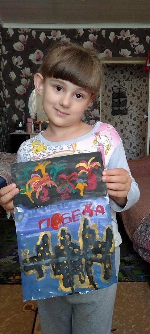 Школьники и дошколята из Петровска — участники челленджа «Салют Победы»