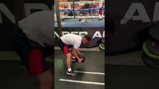 Muhammad Shekhov-boxing training  L.A