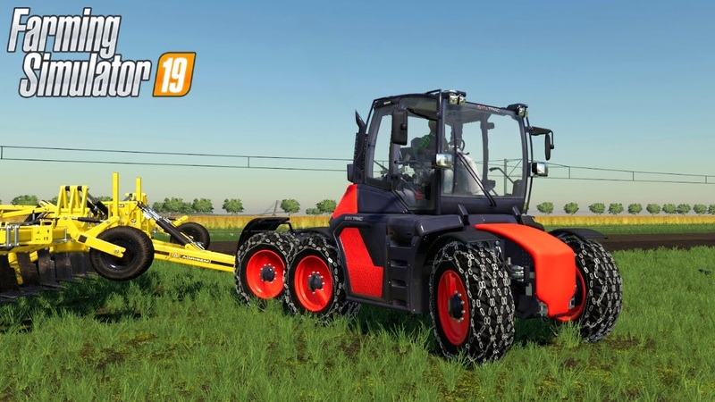 SYN TRAC Cultivating Field Farming Simulator 19