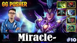 Miracle - Luna Safelane | GG PUSHER | Dota 2 Pro MMR Gameplay #10