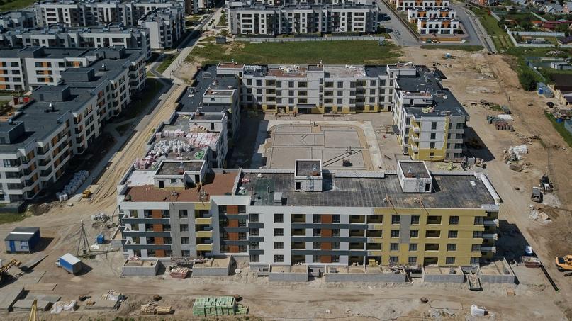 Отчет о ходе строительства ЖК «Ожогино» июнь 2020, изображение №15