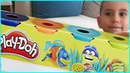 Renkli Plah Doh Oyun Hamuru ile Eğlenceli Şekiller yaptık | Eğlenceli Çocuk Videosu
