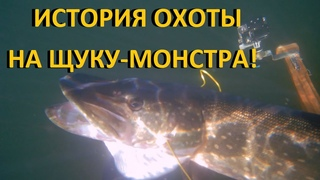 ПОДВОДНАЯ ОХОТА на ЩУКУ-МОНСТРА весом ДАЛЕКО за 12 кг и в конце ещё взял щуку на  килограмма
