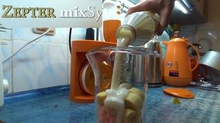 🍹ZEPTER mixSy 📚ИНСТРУКЦИЯ🥦🍌ПРИГОТОВИЛ КОКТЕЙЛЬ