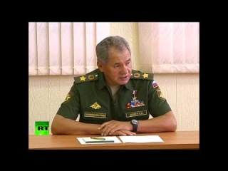 Шойгу поручил российским миротворцам подтянуть иностранные языки