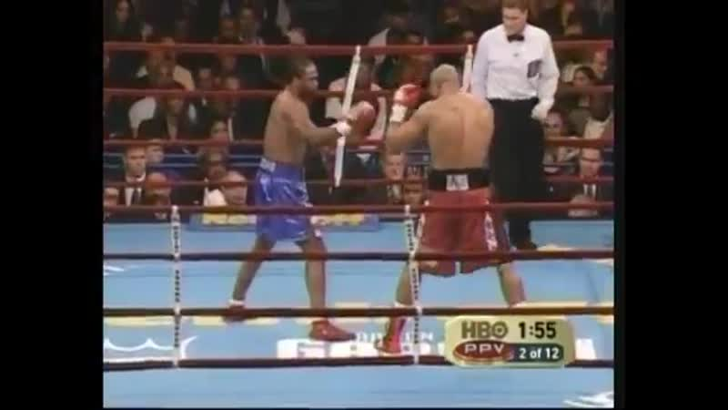 Chris Byrd vs Jameel Mccline HBO Pay Per View November 13 2004
