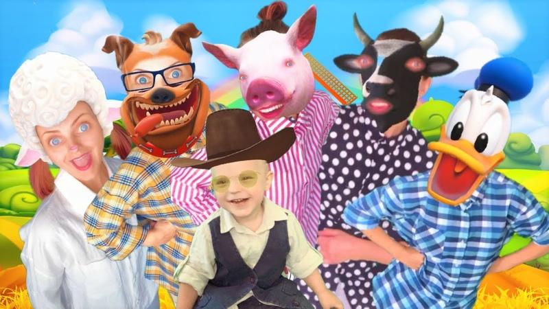 Old MacDonald Had a Farm Fun with Evan Nursery Rhymes and Kids Songs