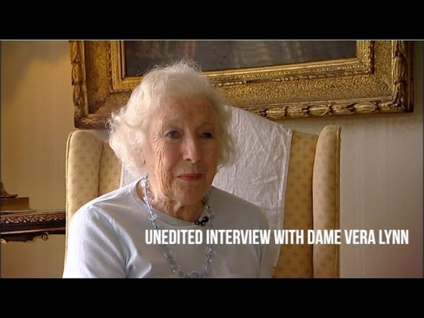 Unedited interview with Dame Vera Lynn We'll meet again
