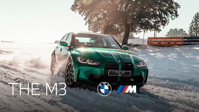 Nuevo BMW M3 sobre nieve en el circuito del Jarama Adrenalina pura