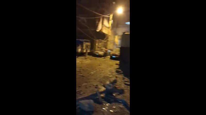 Бейруте опять взрыв на топливном складе