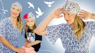 Como Hacer Gorro Turbante En Tela De Algodón Para Mujeres y Niñas / Fácil de confeccionar