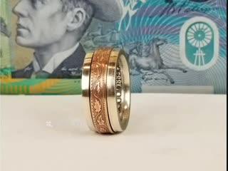 Колечко, сделанное из двух монет