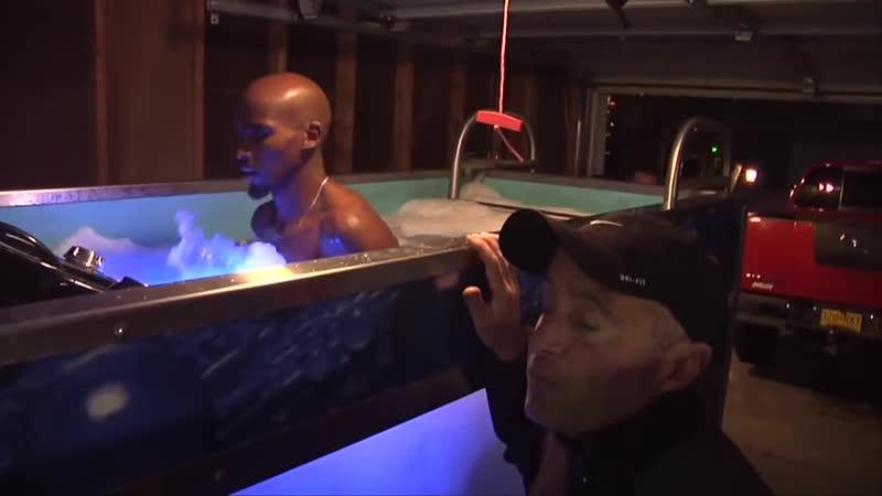 Бег в воде лучших бегунов на длинные дистанции Мо Фарах