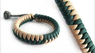 How to Make the Flip Flop Fishtail Mad Max Paracord Bracelet Tutorial