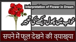 Interpretation of Flower in Dream    Khwab mein Phool Dekhna    خواب میں پھول دیکھنے کی تعبیر