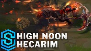High Noon Hecarim Skin Spotlight - Pre-Release - League of Legends